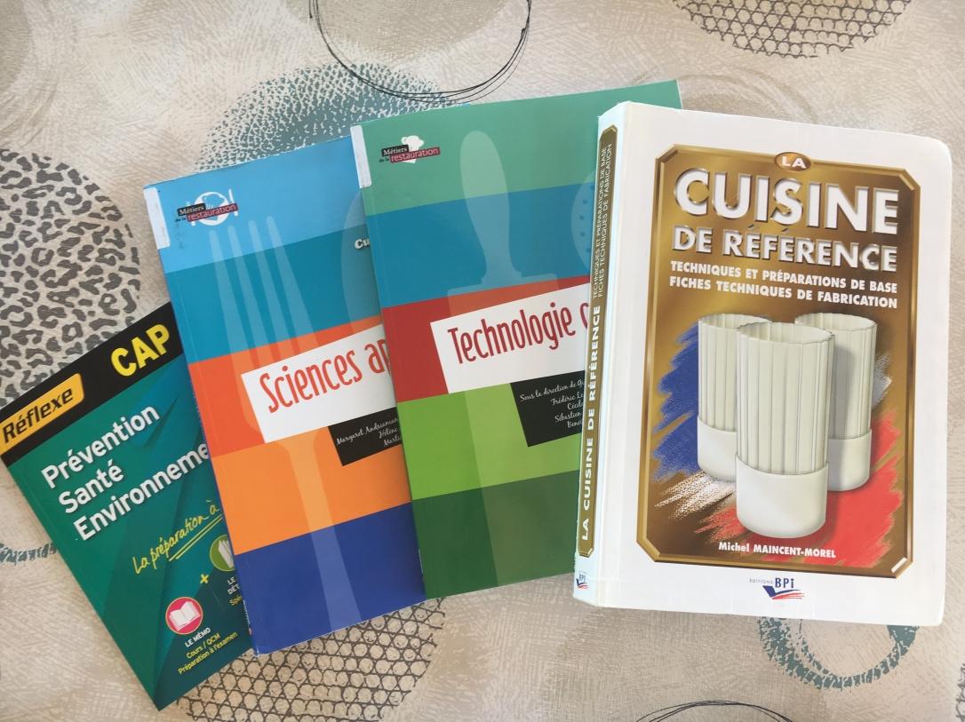 Livres CAP Cuisine